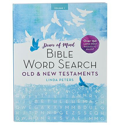 Peace of Mind Bible Word Search: Old and New Testaments-366324