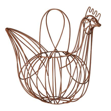 Homestyle Kitchen Rooster Basket-366346