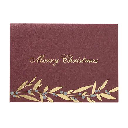 Christmas Berries Christmas Card Set of 18-366420