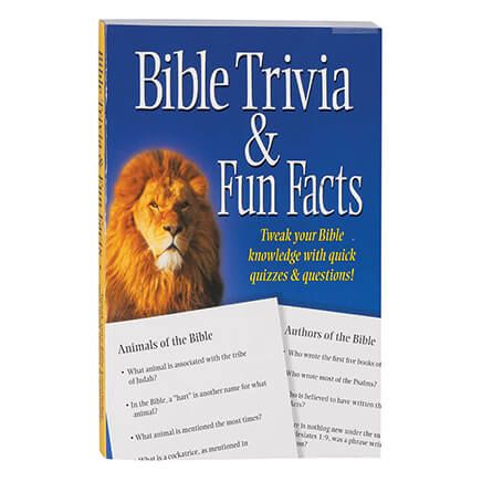 Bible Trivia Fun Facts Book-366776