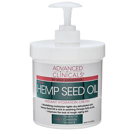 Advanced Clinicals® Hemp Seed Oil Instant Hydration Cream-366781
