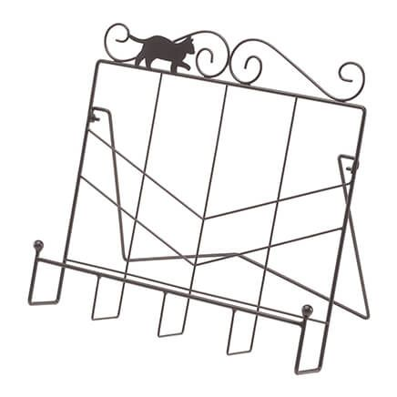 Whimiscal Cat Cookbook Holder by Home Style Kitchen-366963