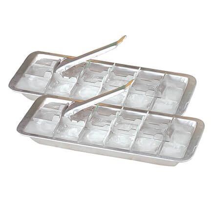 Aluminum Ice Cube Trays, Set of 2-367113