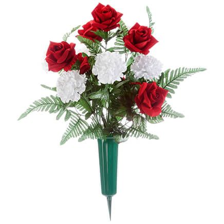 Rose and Carnation Memorial by OakRidge™-367357