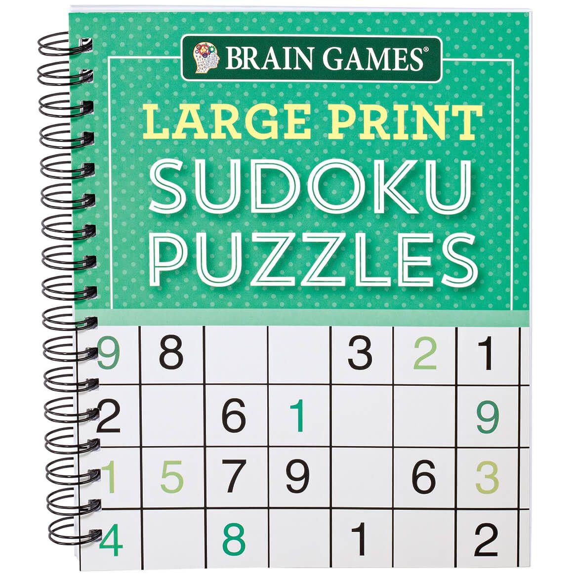 Brain Games® Large Print Sudoku Puzzles-367422