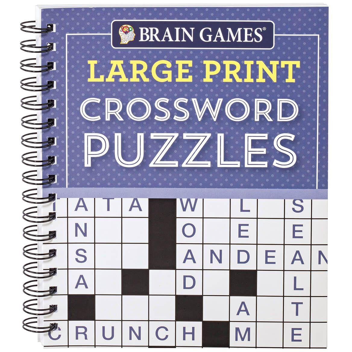 Brain Games® Large Print Crossword-367424
