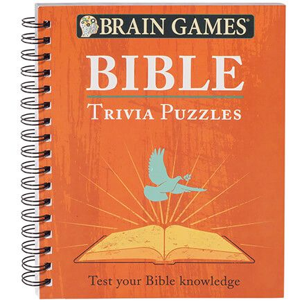 Brain Games® Bible Trivia Puzzles-367430