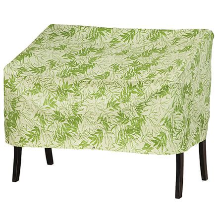 """Leaf Pattern Quilted Lounge Cover, 64""""L x 33""""H x 37""""W-367522"""