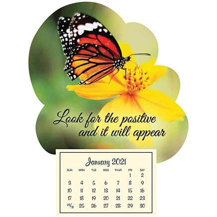 Mini Magnetic Calendar Monarch Butterfly-367576