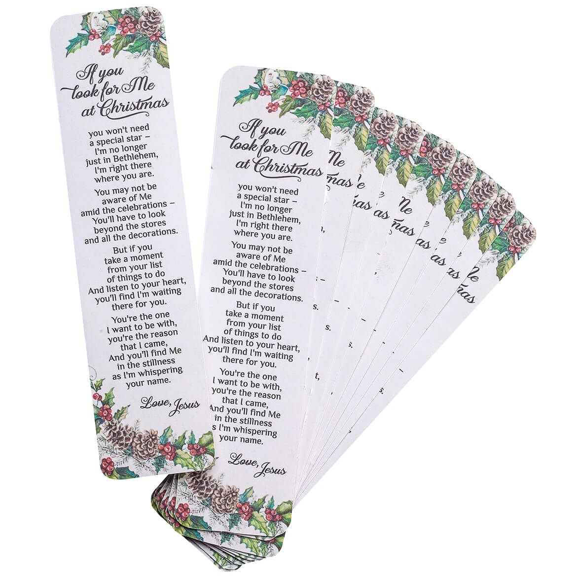 If You Look For Me Bookmarks Set of 12-367637