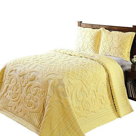 Ashton Chenille 3-Piece Bedding Set-367709