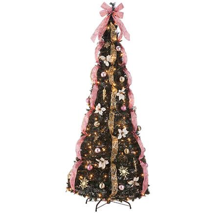 7' Victorian Style Pull-Up Tree by Holiday Peak™-367932
