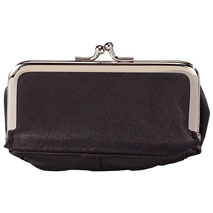 Leather Pocketbook with Mirror-367964