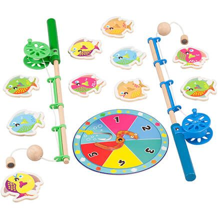 Catch a Fish Counting Game with Wood Rod and Magnets-367977