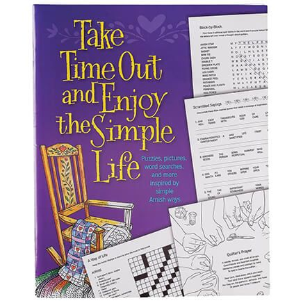 Take Time Out and Enjoy the Simple Life Puzzle Book-367991