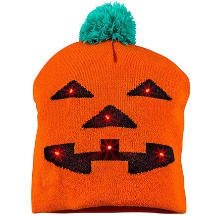 Lighted Jack-O-Lantern Hat-368045
