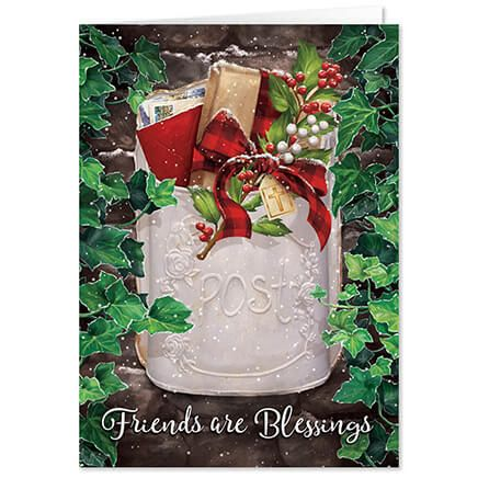 Personalized Friendship Blessings Christmas Card Set of 20-368095