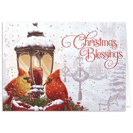 Personalized Cardinals Greeting Christmas Card Set of 20-368097