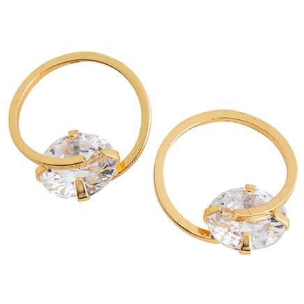CZ Dazzler Earrings-368104