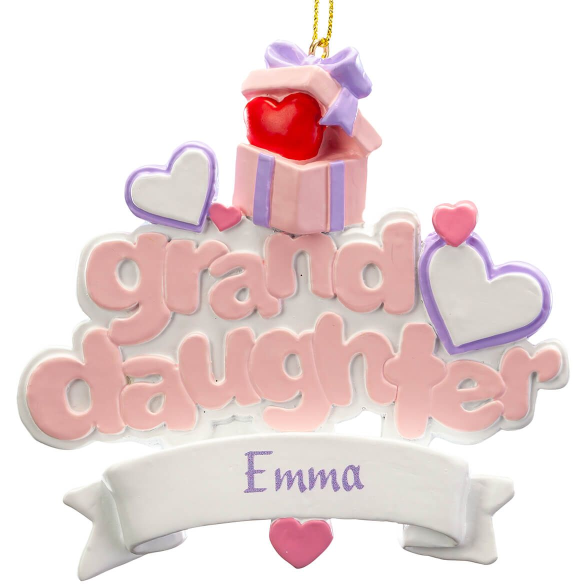 Personalized Granddaughter Ornament-368191