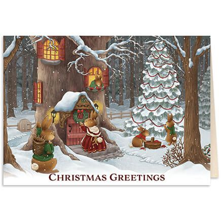 Personalized The Night Before Christmas Card w/Bookmark S/20-368232