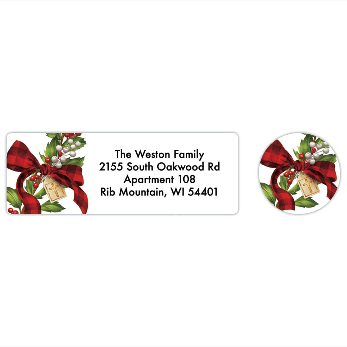 Personalized Friendship Blessings Labels & Envelope Seals 20-368264
