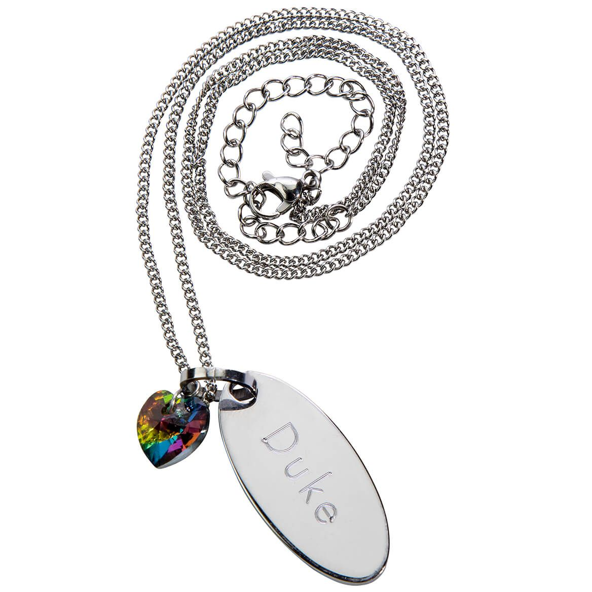 Personalized Rainbow Bridge Necklace-368480