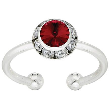 Swarovski Crystal Birthstone Adjustable Ring-368595