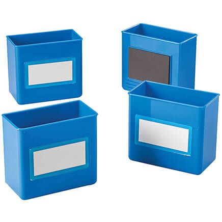 Magnetic Storage Boxes, Set of 4-368699