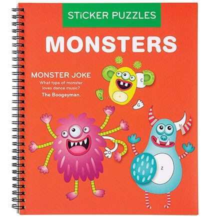 Monsters Sticker by Number Book-368733