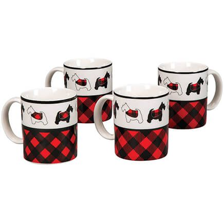 Aberdeen Scottie Mugs, Set of 4-368769