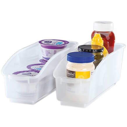 Roll Out Plastic Storage Bins Set of 2 by Chef's Pride-368852