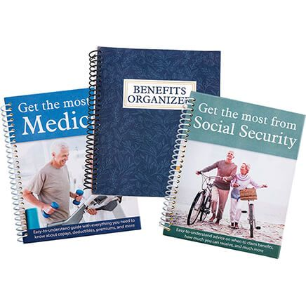 Medicare, Social Security & Benefits Organizer, 3 Piece Set-368923