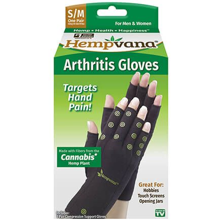 Hempvana Compression Gloves-368960