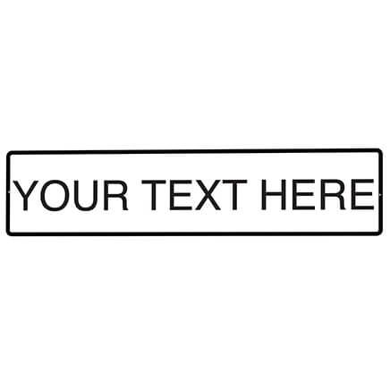 Personalized Street Sign, One-Sided-368986