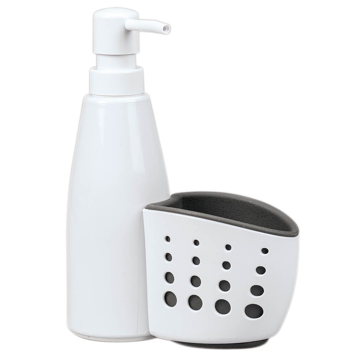Kitchen Soap Pump with Sponge Holder by Chef's Pride-368993