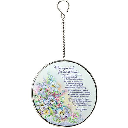 Look for Me at Easter Suncatcher by Holiday Peak™-369161