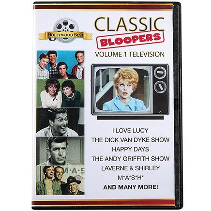 Classic Bloopers Volume 1 Television DVD-369390