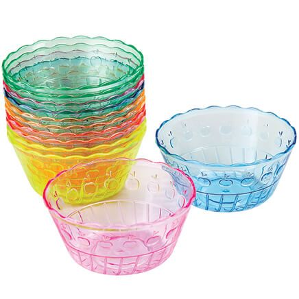 Rainbow Dessert Cups set of 12-369401