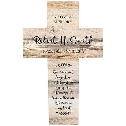 Personalized Rustic Style Cross, In Loving Memory-369434