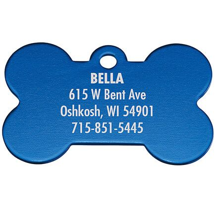 Personalized Bone-Shaped Pet Tag-369473