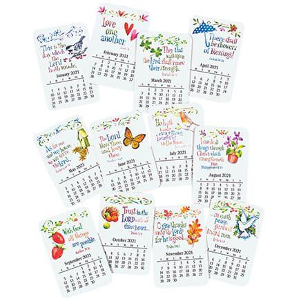 12 Month Calendar Magnet Set-369479