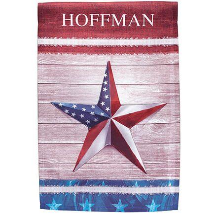 Personalized Barn Star Garden Flag-369488
