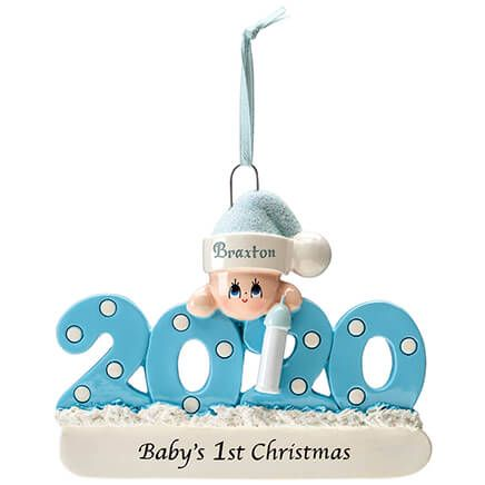 Personalized 2020 Baby's First Christmas Ornament-369544