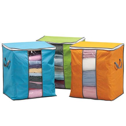 Anti-Dust Quilted Clothes Organizers, Set of 3-369588