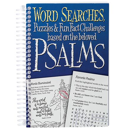 Word Searches Psalms Mini Book-369620
