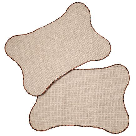 Bone-Shaped Pet Mats, Set of 2-369629