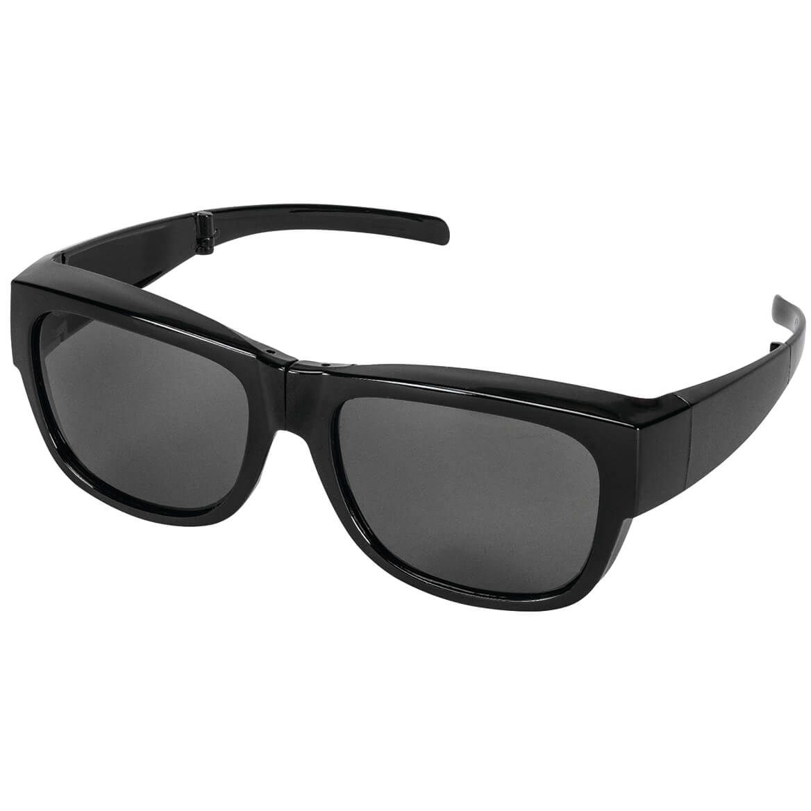 Black Folding Fit Over Polarized Sunglasses-369657