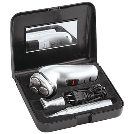 Rechargeable Men's Shaver and Nose Hair Trimmer Set-369670