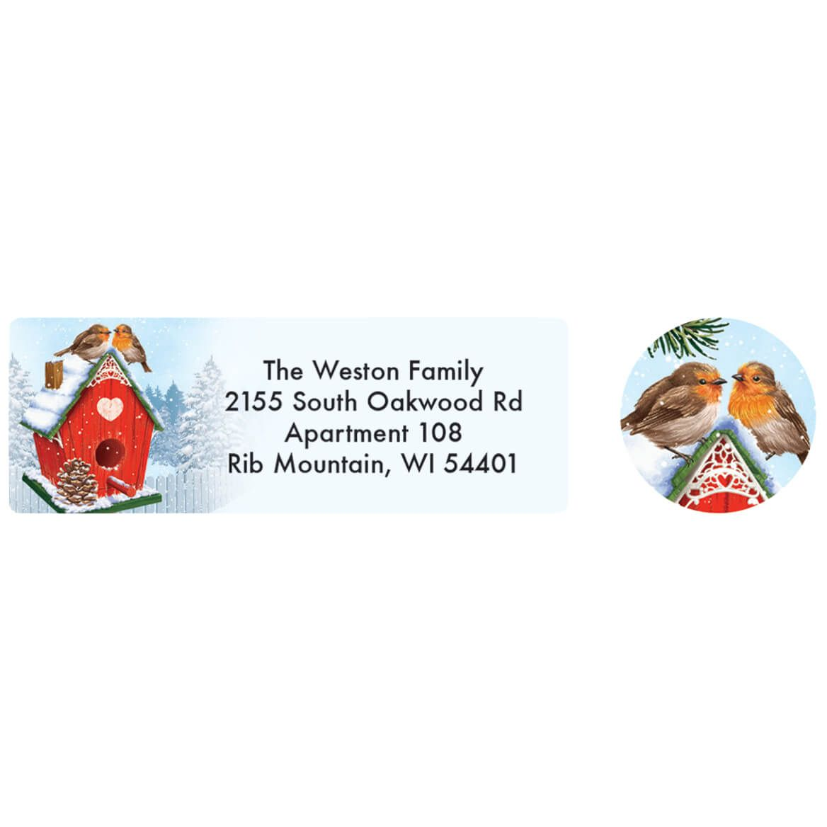 Personalized Our Years Together Labels and Envelope Seals 20-370166